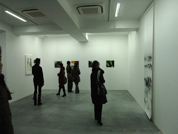 Installation view at Wako Works of Art's new gallery space in the Piramide Building in Roppongi