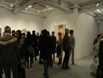 Opening reception at Ota Fine Arts' new gallery space in the Piramide Building in Roppongi
