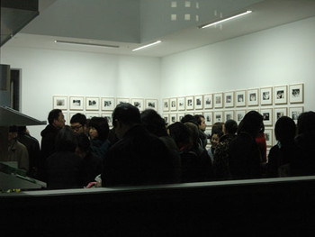 Opening reception at Taka Ishii Gallery's new branch space in the Piramide Building in Roppongi