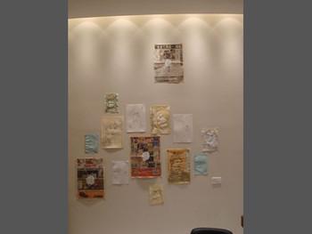 Installation view at G-tokyo x New Tokyo Contemporaries Salon 2011, Misako & Rosen (Tokyo) showcases Kaoru Arima's work