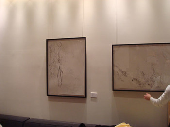 Installation view at G-tokyo x New Tokyo Contemporaries Salon 2011, Take Ninagawa (Tokyo) showcases Dale Berning's drawings