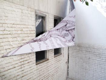 Samir Parker, en route/Flexing the City at KHOJ (installation view)