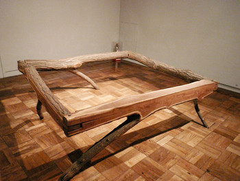 Kunyong Lee, Untitled, 1983, wood