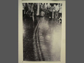 Kunyong Lee, Snail's Gallop, 1980, photograph