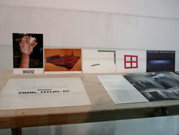 Hyunki Park's exhibition materials
