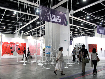 Exhibition view of ASIA ONE at ART HK 11
