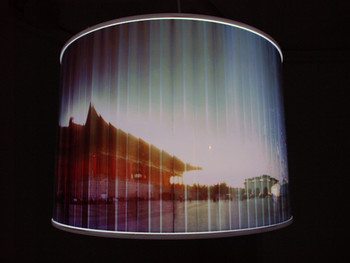wen yau and Chen Chih-Chien, Square (details), 2011, pinhole photography and acrylic light boxes at '1+1: Shenzhen, Hong Kong, Taipei, Macau Art Exchange Exhibition', Hong Kong Arts Centre