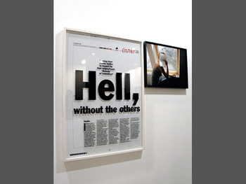 Sophie Calle, Chief Editor Sabrina Champenois from the series Prenez soin de vous [Take Care of Yourself], 2007, photo and text at ART HK 11