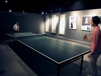 Katsumi Asaba's Life, Is Like a Ping Pong Match