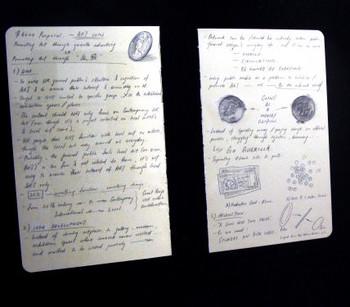 Detailed view of Otto Li Tin Lun's work