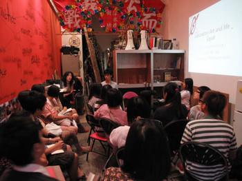 Artist workshop at Wooferten. Photo courtesy Wooferten.