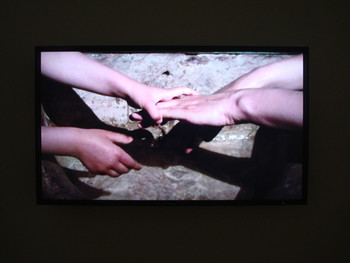 Tsai Charwei, Baptism, 2009, video. Presented at the Yokohama Museum of Art