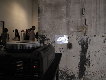 Praneet Soi, Kumartuli Printer, 2010/2011, slide projection at the Indian Pavilion