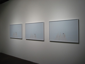 Rika Noguchi, A man and some birds, 2010, c-print. Presented at BankART Studio NYK