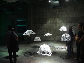 Sigalit Landau, DeadSee, 2005, installation. Presented at BankART Studio NYK
