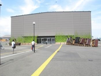 Main entrance, 'Shin-Minatomura: A Small City for the Future BankART Life III' at Shinko Pier