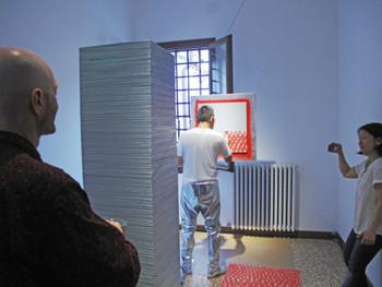 Sasaki, Heartbeat Venice Biennale 2011, 2011, performance