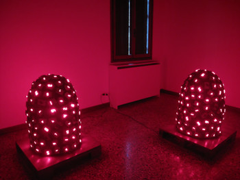work by Tatsuo Miyajima at 'Personal Structures'
