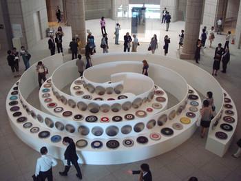 Exhibition view, main entrance hall, Yokohama Museum of Art