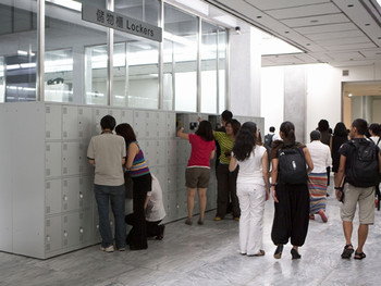 Pak Sheung Chuen, Lockers, TFAM, 2010. Courtesy of TFAM.