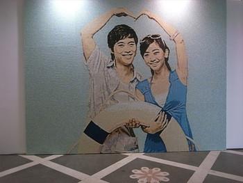 Zhuang Hui & Dan'er, Wall Mural in Mosaic, 2011, 460 x 350 cm