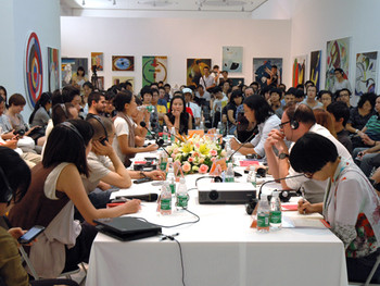 Roundtable discussion moderated by Nikita Cai Yingqian, Curator of 'A Museum that is Not'
