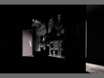 Geng Jianyi, The content is distributed by its shadow, 2011 (interior view of the darkroom)