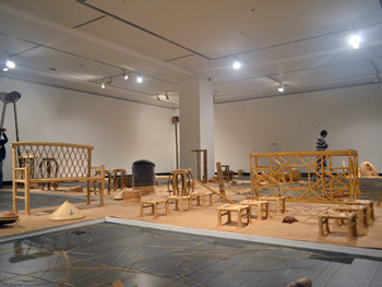 Qiu Zhijie, Over and Over, 2009-2011, installation