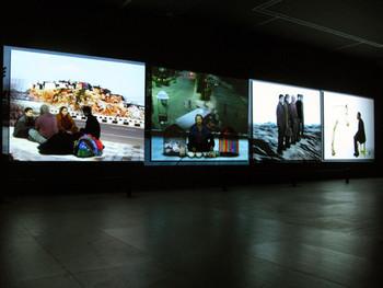 Ranbir Kaleka, Crossings, 2005, 4-channel video