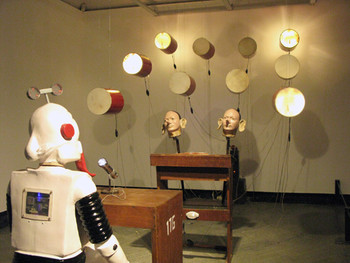 Heri Dono, The Jester's Court, 2011, installation