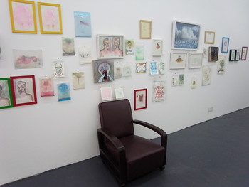 Lin Ke, 2011, exhibition view