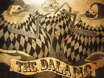 Samsudin Abdul Wahab, The Dalang, 2008, mixed media on canvas, 91 x 121 cm