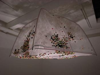 Ji Wenyu + Zhu Weibing, Insects Not Allowed, 2010, various materials.