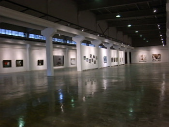 Interior view of the Qinghe Current Art Center.