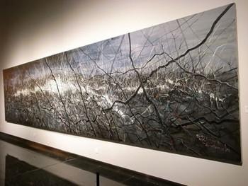 Zeng Fanzhi, Untitled 10-03-01, 2010, oil on canvas, 200 x 800 cm.