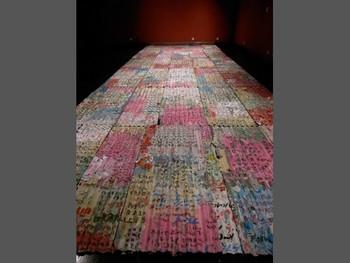 Wang Qingsong, Debacle, 2009, installation, 75 x 200 cm /piece.