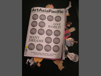 Edited issue of ArtAsiaPacific magazine by artist Nguyen Kim To Lan