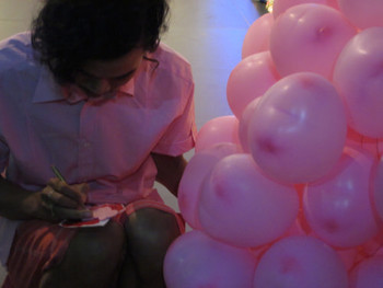 Hello Childhood, a performance by Tran Minh Duc at closing party of 'Open Edit'
