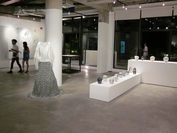 Installation view of the Post Vidai collection exhibition