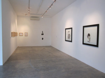 Installation view of 'Mise-en-scene' exhibition at Galerie Quynh, a 200 square-meter former factory near downtown in Ho Chi Minh City