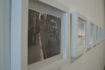 Tuan Andrew Nguyen, Hip Hop History Sampling Hip Hop History – The Red Remix, 2008, 8 digital c-prints. photo courtesy: Galerie Quynh