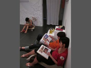 Visitors at 'Open Edit'