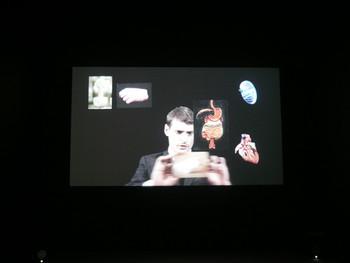 Aurélien Froment, Theâtre de poche, 2007, HD video, 12:27.