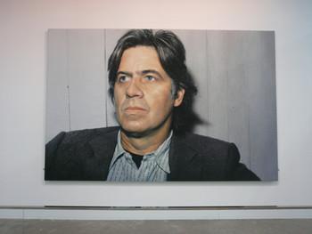 Franz Gertsch, Selbstbildnis (Self-portrait), 1980, acrylic on canvas