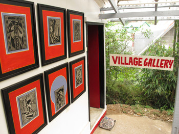The Village Gallery at Tam-Awan.