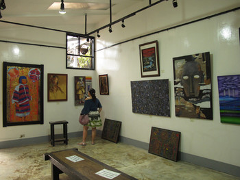 View of exhibition at Tam-Awan.