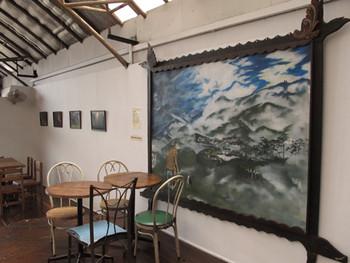Kawayan De Guia's painting and Tenzing Paljor's photographs at VOCAS.