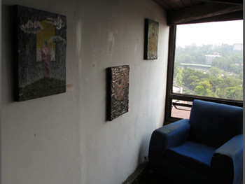 Small paintings by Kigao at VOCAS.