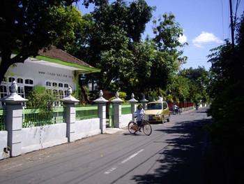 Indonesian Visual Art Archive (IVAA) and its neighborhood.