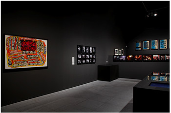 Installation view of 'Losing the Human Form.
